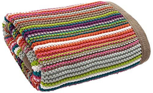 Timbuktales Knitted Stripe Blanket - 1