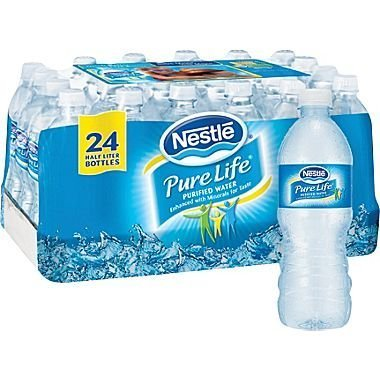 Nestlé® Pure Life® Bottled Purified Water, 16.9 oz. Bottles, 24/Case (Drinking Water Cases compare prices)