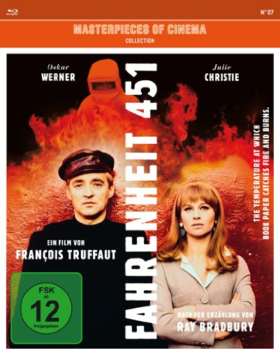 Fahrenheit 451 - Masterpiece of Cinema [Alemania] [Blu-ray]
