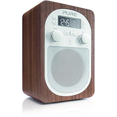 pure-evoke-d2-portable-digital-dab-fm-radio-with-real-wood-cabinet-and-alarm-walnut