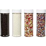 Wilton 710-1175 Everyday Mega Sprinkle Set, 4-Pack