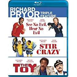 Richard Pryor Triple Feature (See No Evil, Hear No Evil; Stir Crazy; The Toy) [Blu-ray]