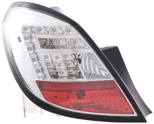 Led Taillights Opel Corsa D 5-Door Yr. 06-10 Chrome