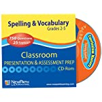 NewPath Learning Mastering Spelling and Vocabulary Interactive Whiteboard CD-ROM, Site License, Grade 2-5