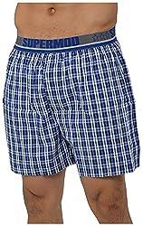 Supermod Men's Cotton Boxer (SM03-BS-Multi-Coloured-M, Multi-Coloured, Medium)