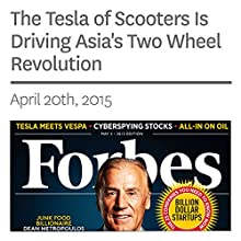 The Tesla of Scooters Is Driving Asia's Two Wheel Revolution (       UNABRIDGED) by Aaron Tilley Narrated by Ken Borgers
