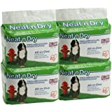 Neat'n Dry -Wee Wee Training Pet Pad Extra Large 20 pk x 4 (Total 80 Pads)