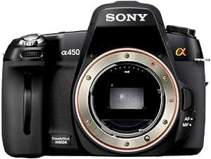 Sony DSLR-A450 Reflex boitier nu 14 Mpix Noir