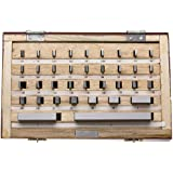 "Gage Block Set in Wood Box, +/-.000050"" Accuracy, 36 Piece"