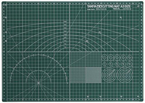 Tamiya 74076 Cutting Mat A3 Size (Yoshi Car Mats compare prices)