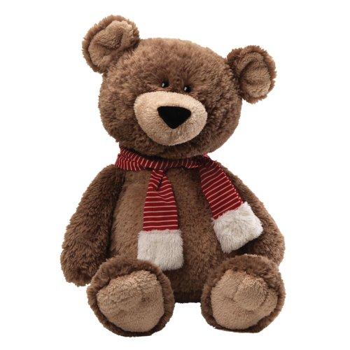 "Gund Fun Christmas Snuffy Snuggle Bottoms Bear Jumbo 35"" Plush front-318159"