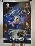 (22x34) Star Trek (Captains) TV Poster Print