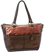 The SAK Iris Satchel Handbag,Teak Multi,One Size