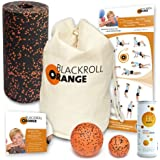 Blackroll Orange (Das Original) DIE Selbstmassagerolle - miniBAG-Set STANDARD