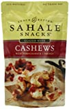 Sahale Snacks Glazed Nuts Cashews with Pomegranate + Vanilla, 4-Ounce Pouches (Pack of 6)