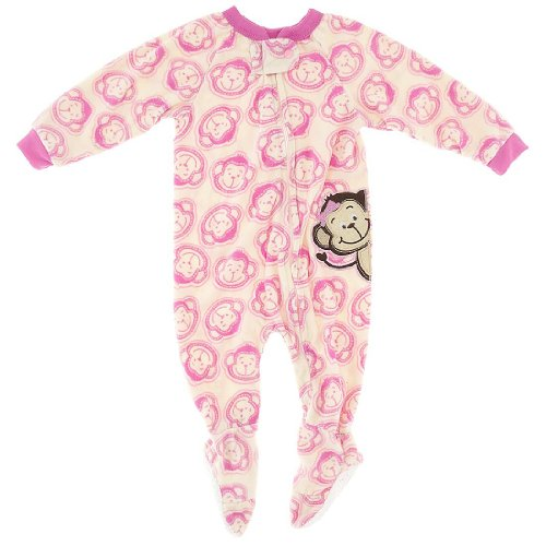 Monkey Pajamas For Kids front-1069249