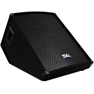 Seismic audio 15 inch floor wedge style for 15 inch floor speakers
