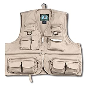 Prestige youth 26 pocket fishing vest kids for Kids fishing vest