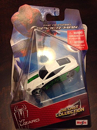Maisto 2012 Die Cast Collection the Amazing Spider-man V7 Lizard Car