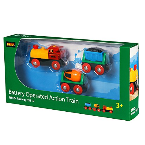 BRIO BRI-33319 Rail Battery Operated Action Train