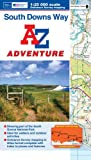 img - for South Downs Way Adventure Atlas 1:25K A-Z book / textbook / text book