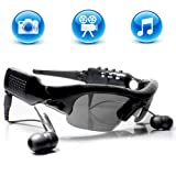 S9D Micro SD Sunglasses MP3 Player DVR Mini Camera Camcorder Video Recorder