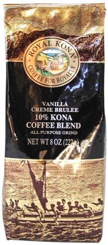 ロイヤルコナコーヒー バニラクリームブリュレ 8oz(227g)