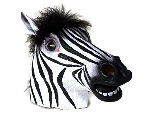 Halloween Mask Collection (Zebra Mask)