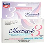 Rite Aid Miconazole 3 Vaginal Antifungal Combination Pack