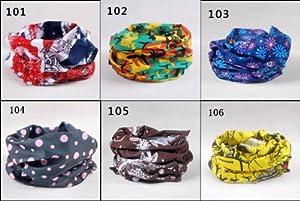 Buy 6 Pcs Outdoor Colorful Headscarf & Neck Scarf High Elastic Magic Headband, Headwear with Uv Resistance, 19.7*9.4... by LF STAR