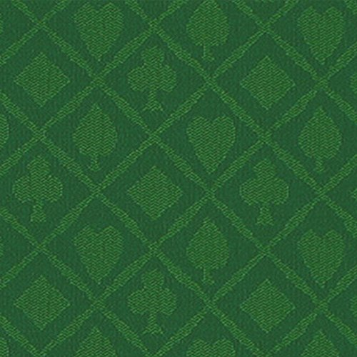 Brybelly polyester suited speed cloth 10 feet green for 10 foot table cloth