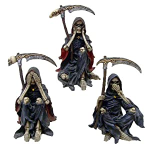 Something Wicked - Set of 3 - Figurine / Statue - 9.5cm each