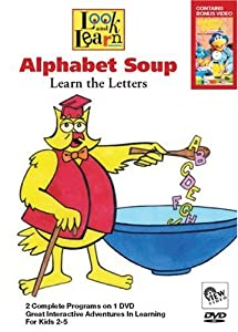 LOOK AND LEARN: Alphabet Soup - Learn the Letters