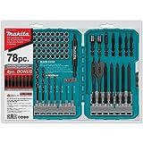 Makita T-01769 Contractor-Grade Bit Set, 78-Piece