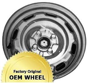 VOLKSWAGEN GOLF,JETTA 14X6 8 HOLE Factory Oem Wheel Rim- STEEL-SILVER – Remanufactured