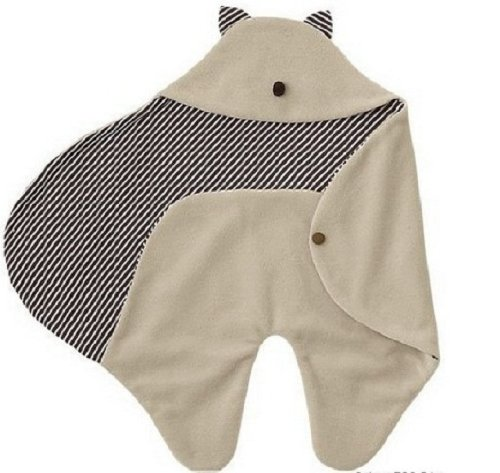Hotenergy Multifunction Baby Infant Swaddle Warm Blanket With Hood Sleeping Bag Wrapping front-197319