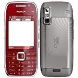 Nokia E75 Red 85MB Qwerty UK Made In Finland 3G 2G GSM SimFree Cell Phone