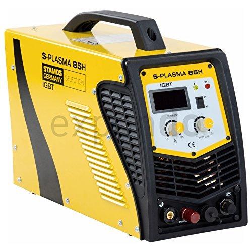Stamos-Germany-S-PLASMA-85H-Plasmaschneider-CUT-85-400-V-max-85-A-ED-60-Kontaktlose-Zndung-201-kg