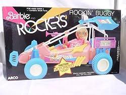 Barbie Rockers Rockin Buggy Friction Motorized (1986)