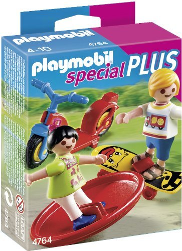 Playmobil 2 Kids With Toys front-1053920