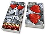 Kaminhölzer Love stones - Steine der Liebe