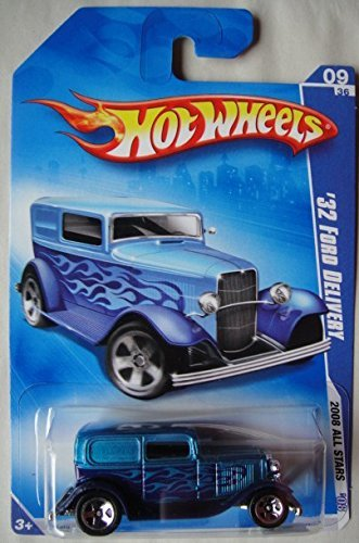 HOT WHEELS 2008 ALL STARS BLUE 1932 FORD DELIVERY 9/36