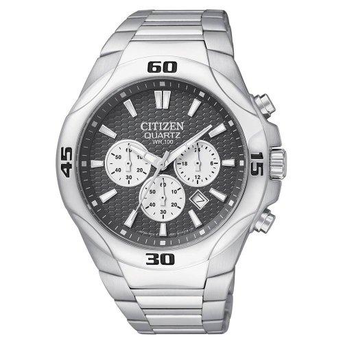 Citizen Quartz Chronograph Sport Gray Dial Men'S Watch - An8020-51H
