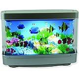 Aquarium Lamp with Fish : Ocean in Motion Revolving Aquatic Scene