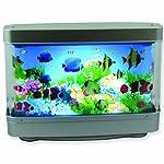 Aquarium Lamp with Fish : Ocean in Motion Revolving Aquatic Scene - Best Seller on Amazon