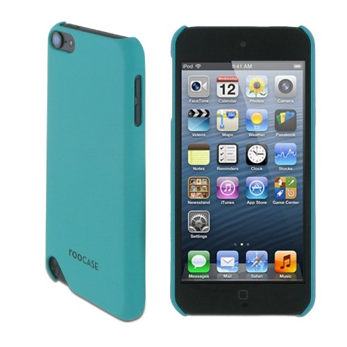 rooCASE Ultra Slim Matte (Aqua) Shell Case for Apple iPod Touch 5 (5th Generation Sept 2012)