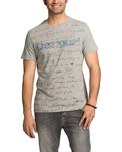 Desigual Camiseta Manga Corta Gris