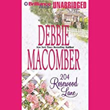 204 Rosewood Lane: Cedar Cove, Book 2 (       UNABRIDGED) by Debbie Macomber Narrated by Sandra Burr