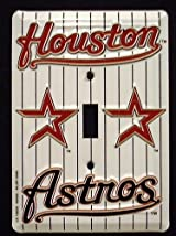 Houston Astros Light Switch Cover (single)