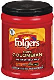 Folgers 100% Colombian Coffee, 10.3 Ounce (Pack of 12)